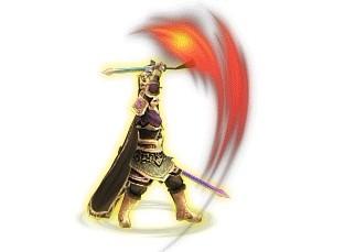 橙色武将:仁王刘备